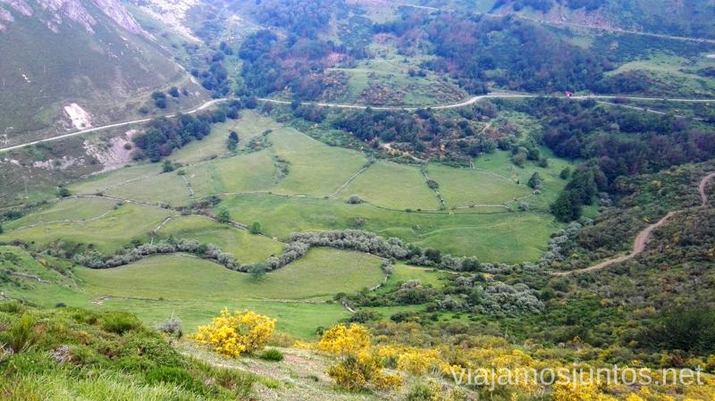 Mirador de la Peral / Mirador del Príncipe Ruta en coche por los pueblos con encanto del Parque Natural de Somiedo