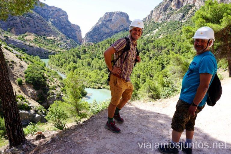 Caminito del Rey, el lado más extremo de #ViajarConSuegra Cómo viajar con padres o gente mayor y no morir en el intento