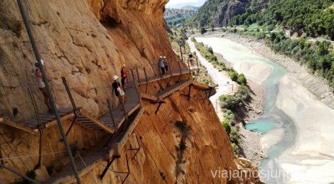 Último tramo del Caminito del Rey Todo lo que necesitas saber sobre el Caminito del Rey en Málaga