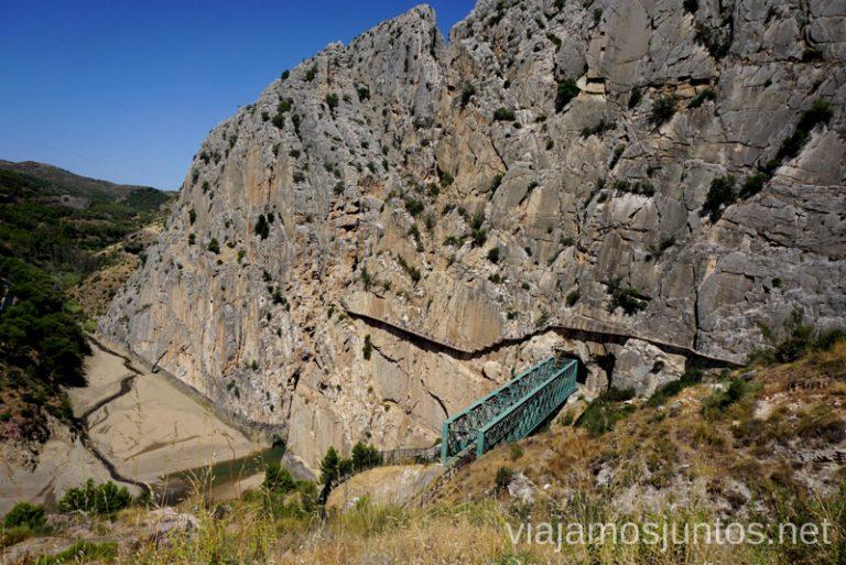 Salida del Caminito del Rey Todo lo que necesitas saber sobre el Caminito del Rey en Málaga
