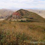 Capilla en el complejo monástico de Udabno Georgia - Azerbaiján Cómo visitar el complejo monástico David Gareja en Georgia