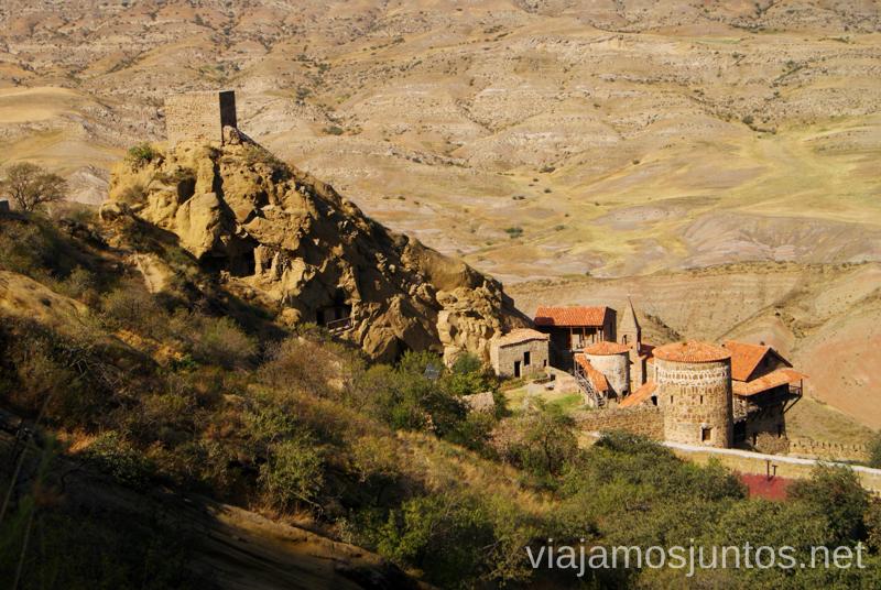 La Lavra de David Cómo visitar el complejo monástico David Gareja en Georgia
