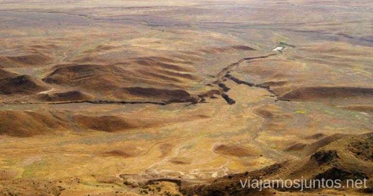 Azerbaiján Desierto Cómo visitar el complejo monástico David Gareja en Georgia