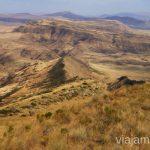 Las vistas hacía Armenia Cómo visitar el complejo monástico David Gareja en Georgia