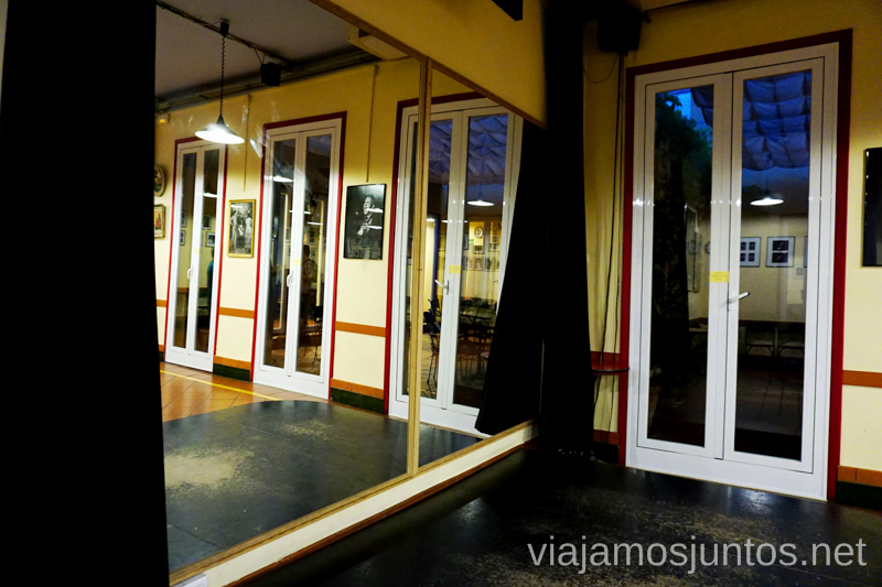 Salas de ensayo y funciones. Casa Patas Dónde ver flamenco en Madrid