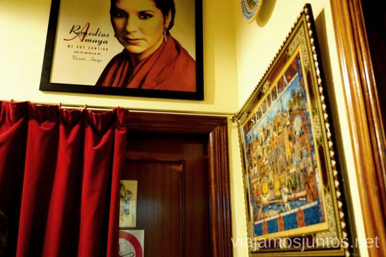 Detrás del escenario de Casa Patas Dónde ver flamenco en Madrid