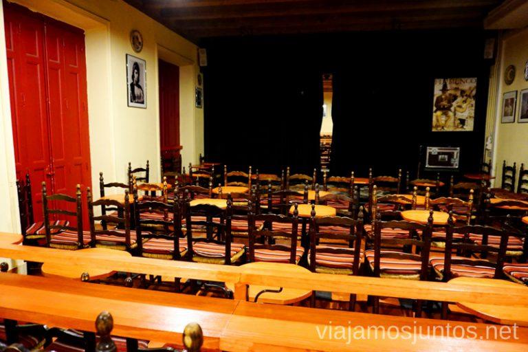 Sala García Lorca de Casa Patas Dónde ver flamenco en Madrid