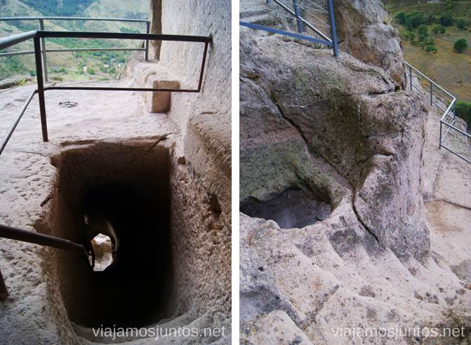 Túneles, pasarelas y pasadizos de Vardzia Vardzia. Qué ver e información práctica