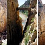 El Caminito del Rey, antiguamente, el más peligroso del mundo Todo lo que necesitas saber sobre el Caminito del Rey en Málaga