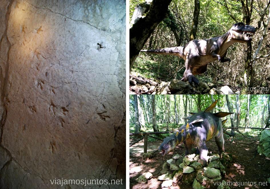 Dinosaurios en el parque Jurásico de la Cueva de Sataplia La Cueva de Prometeo y la Cueva Sataplia. Qué ver y hacer en Kutaisi y alrededores Georgia