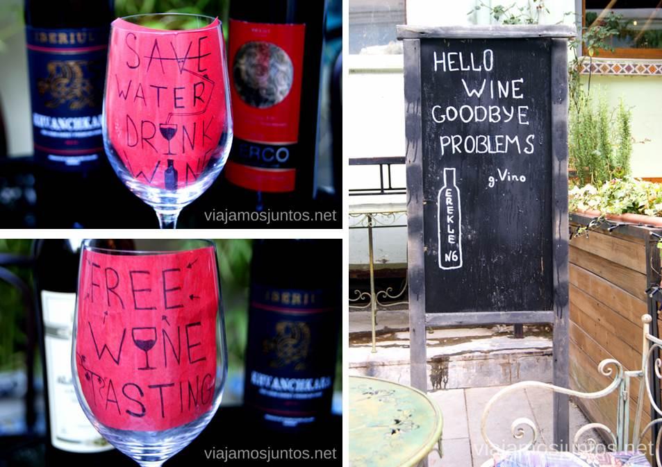 Es más responsable beber vino, según georgianos Qué ver y hacer en Tbilisi (Tiflis), la capital de Georgia