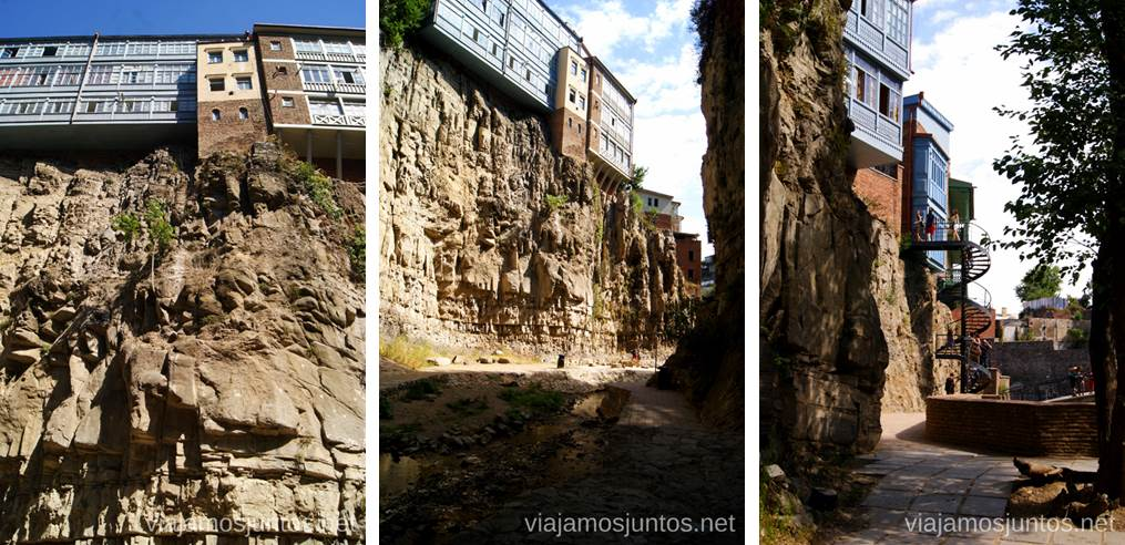 Casas colgadas de Tbilisi Qué ver y hacer en Tbilisi (Tiflis), la capital de Georgia