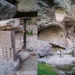 Vanis Qvabebi. Iglesia antigua destruida Vardzia. Qué ver e información práctica