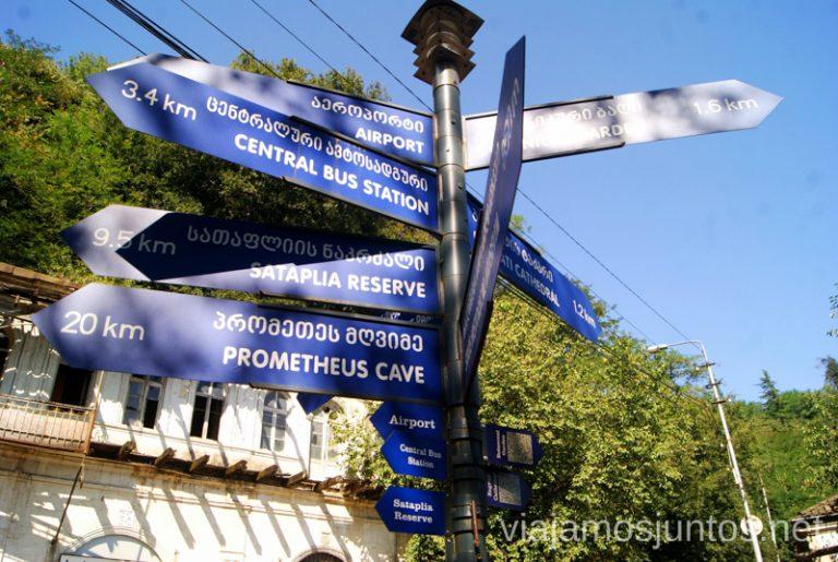 Puntos de interés de Kutaisi Qué ver y hacer en Kutaisi y alrededores Georgia