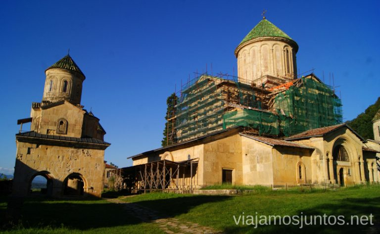 El recinto del monasterio de Gelati Monasterio de Gelati y Monasterio de Motsameta Qué ver y hacer en Kutaisi y alrededores Georgia