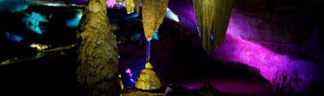 La iluminación de La Cueva de Prometeo y la Cueva Sataplia. Qué ver y hacer en Kutaisi y alrededores Georgia