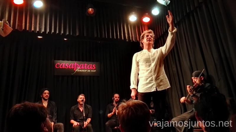 Momento final Dónde ver flamenco en Madrid