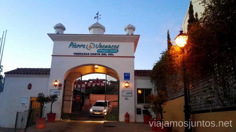 Pierre et Vacances. Entrada Qué hacer en los alrededores de Málaga Manilva