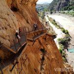 Último tramo del Caminito del Rey Qué hacer en los alrededores de Málaga Manilva