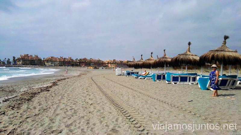 Playa Torreguadiaro Qué hacer en los alrededores de Málaga Manilva