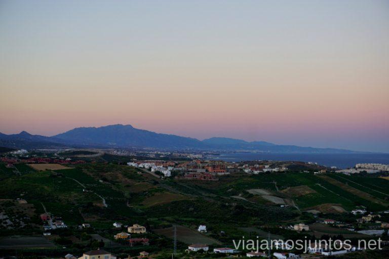 Vistas al mar desde Manilva Qué hacer en los alrededores de Málaga Manilva