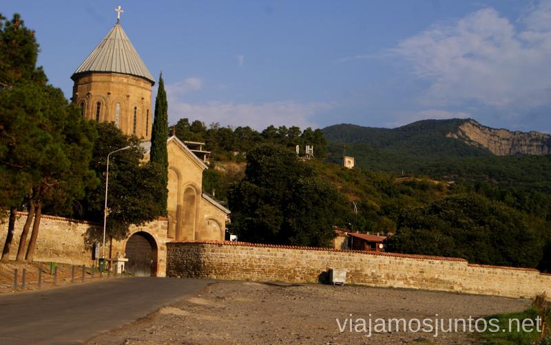 Monasterio de SamtavroQué ver en Mtskheta, información práctica de Mtskheta