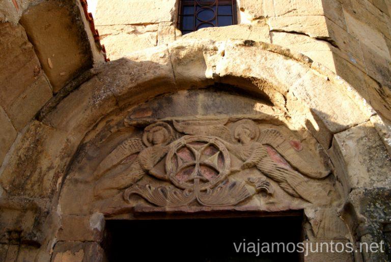 Bajorrelieves en el Monasterio de Jvari Qué ver en Mtskheta, información práctica de Mtskheta