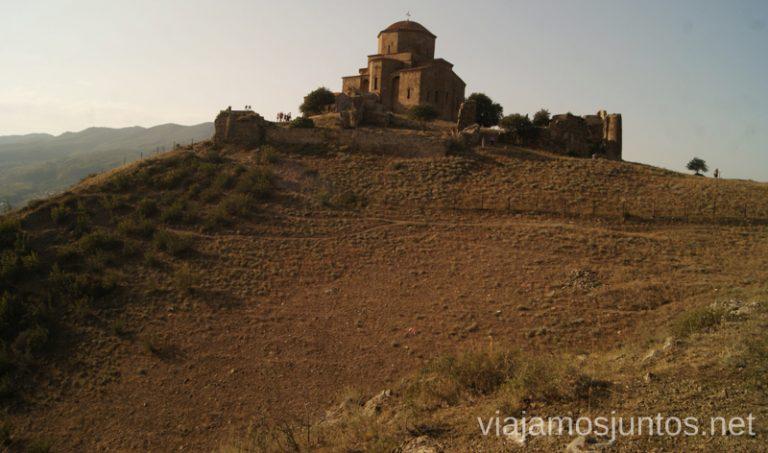 Monasterio de Jvari Qué ver en Mtskheta, información práctica de Mtskheta