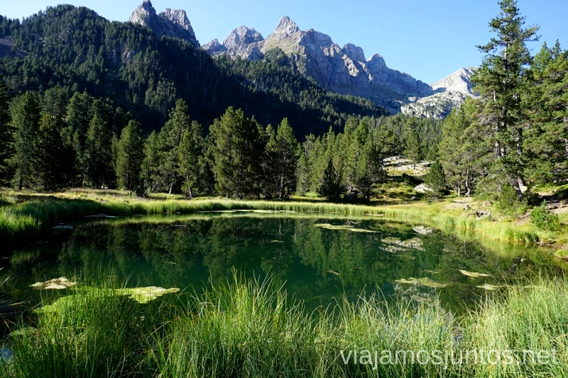 Ibonét de Batisielles Ruta de los 3 refugios por el Parque Natural Posets-Maladeta, Pirineo Aragonés Aragón