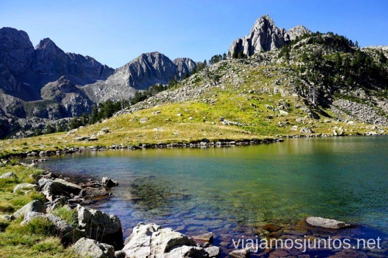 Ibón Grande de Batisielles Ruta de los 3 refugios por el Parque Natural Posets-Maladeta, Pirineo Aragonés Aragón