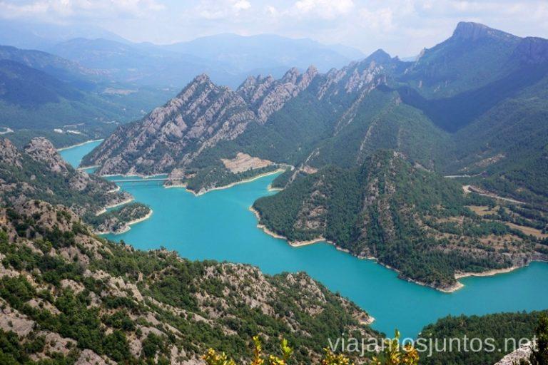 Ruta circular al Santuario de Lord y vistas al pantano Llosa del Cavall Rutas de senderismo por el Valle de Lord, Lérida, Cataluña Pirineo