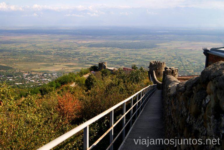 La gran muralla de Signagi Qué ver en Signagi, Georgia. Información práctica
