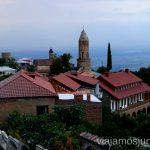 Vistas de Signagi al atardecer Qué ver en Signagi, Georgia. Información práctica