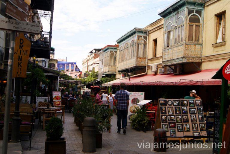 Calles de Old Tiflis Qué ver y hacer en Tbilisi (Tiflis), la capital de Georgia