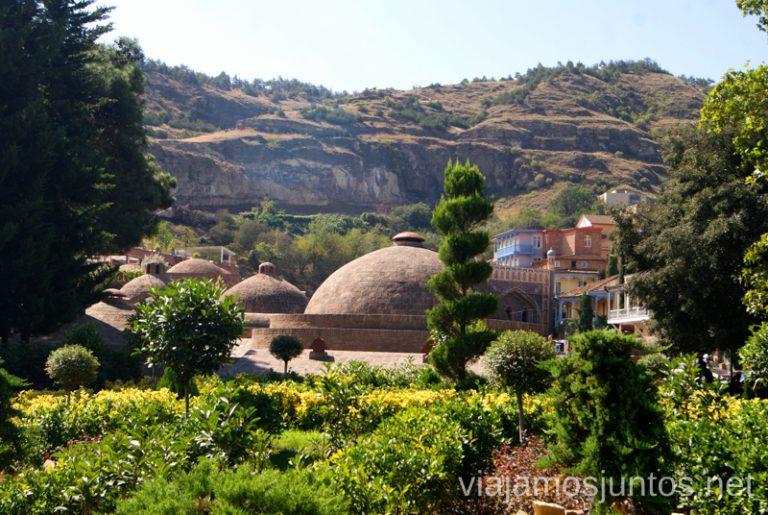 Área de termas en Tbilisi Qué ver y hacer en Tbilisi (Tiflis), la capital de Georgia
