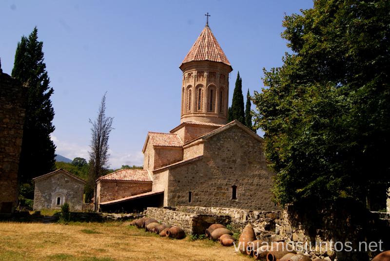 Monasterio de Ikalto, Telavi, Georgia Qué ver en Telavi, Georgia, y los alrededores