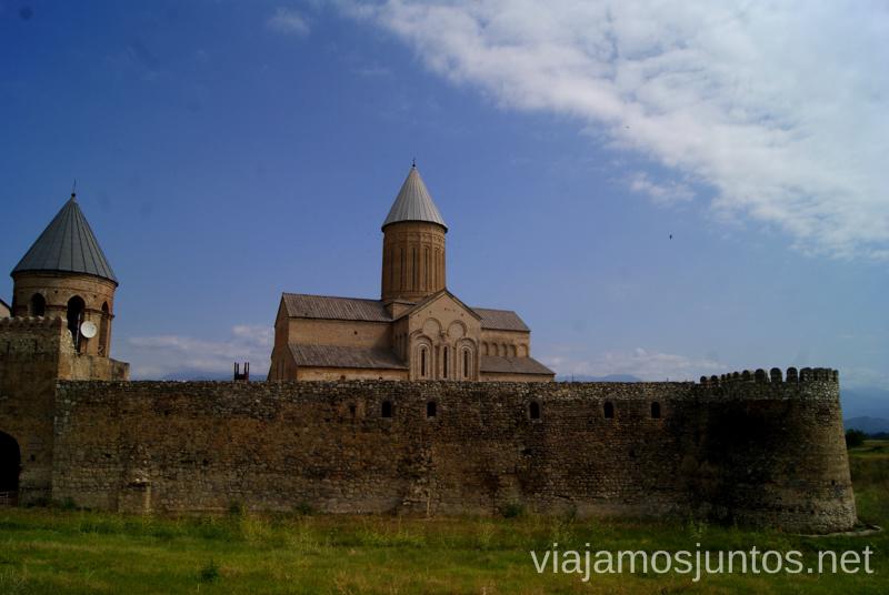 Monasterio de Alaverdi, Telavi, Georgia Qué ver en Telavi, Georgia, y los alrededores
