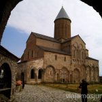 Monasterio de Alavardi desde la entrada Qué ver en Telavi, Georgia, y los alrededores