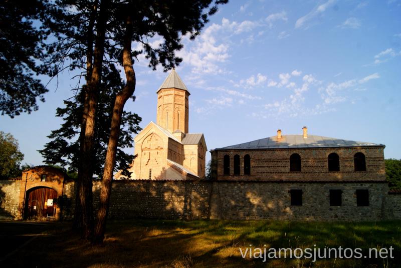 Shuamta Nueva Qué ver en Telavi, Georgia, y los alrededores