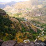 Vistas desde la capilla de Vanis Qvebabi Vardzia. Qué ver e información práctica