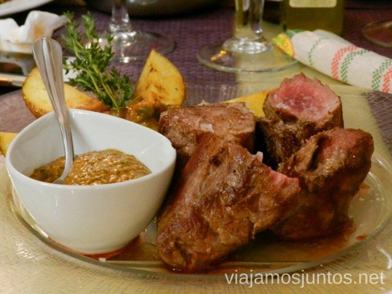 Solomillo de la finca de los Pedroches Dónde comer en Córdoba
