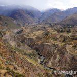 Donde empieza el cañón del Valle del Colca Ruta por Perú de 30 días Itinerario Peru Viaje a Perú #PerúJuntos