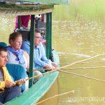 Pescando en el río HeathRuta por Perú de 30 días Itinerario Peru Viaje a Perú #PerúJuntos