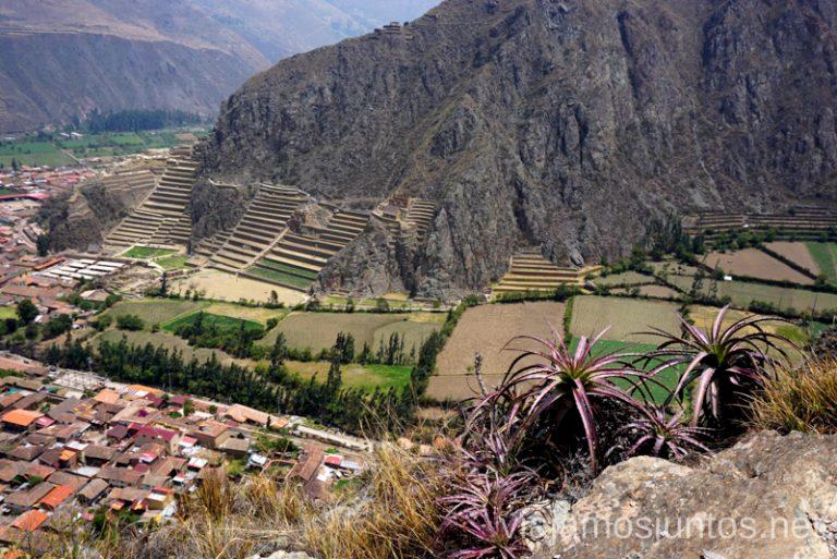 Ollantaytambo en el Valle SagradoRuta por Perú de 30 días Itinerario Peru Viaje a Perú #PerúJuntos