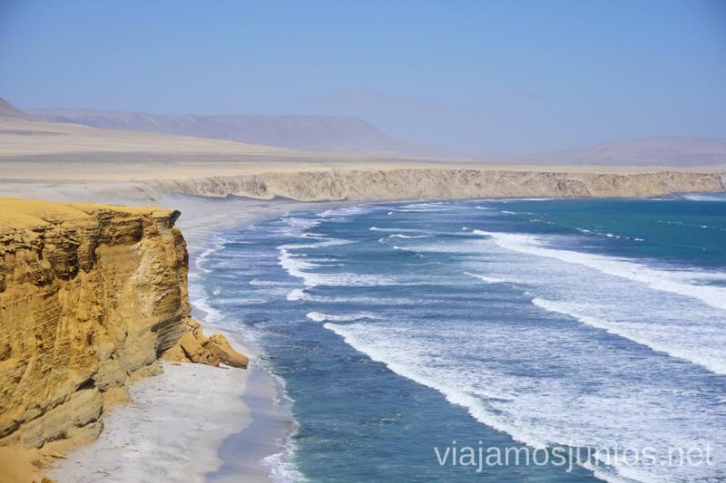 Parque Nacional de Paracas: donde el desierto se besa con el océano s Ruta por Perú de 30 días Itinerario Peru Viaje a Perú #PerúJuntos