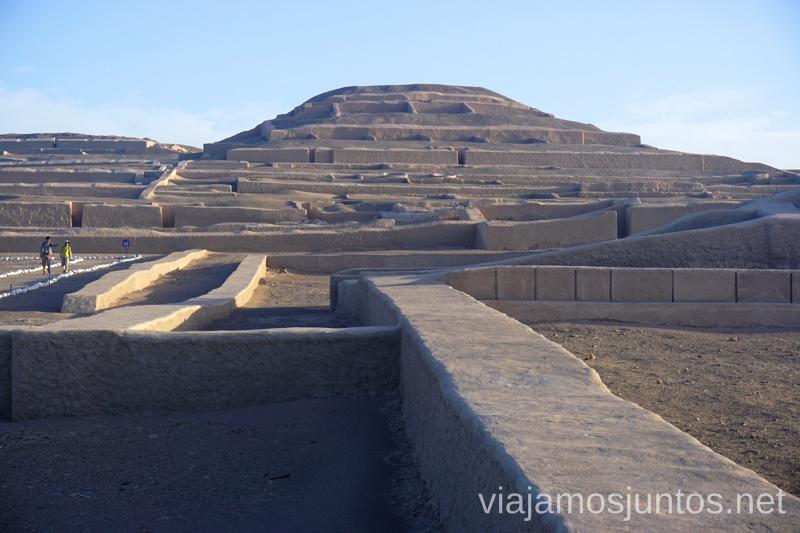 Huaca cerca de Nasca Ruta por Perú de 30 días Itinerario Peru Viaje a Perú #PerúJuntos