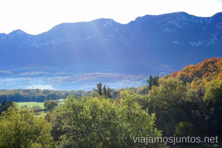 Vistas del Valle de Mena desde el santuario de Cantonad Qué ver y qué hacer en las Merindades Castilla y León