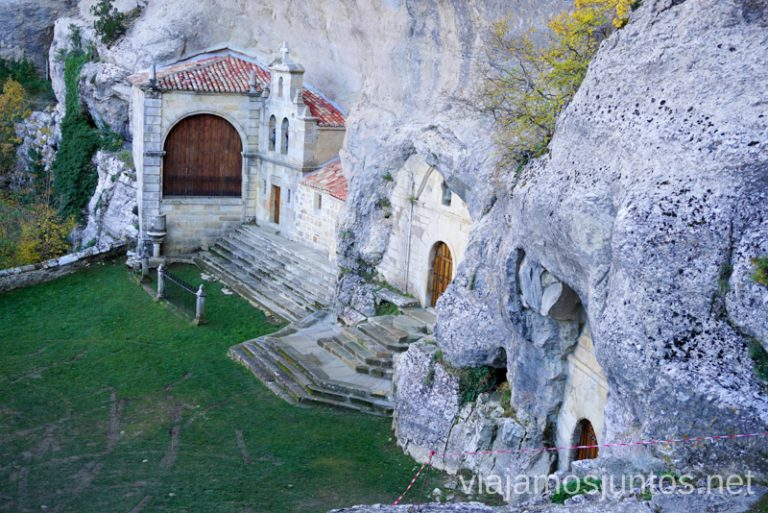 Ermita de San Bartolomé, monumento natural Ojo Guareña Qué ver y qué hacer en las Merindades Castilla y León