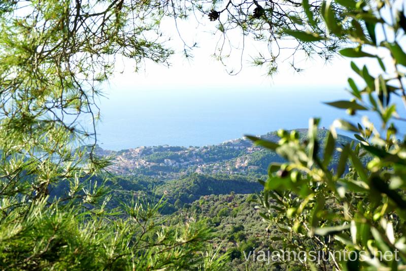 Vistas a Puerto de Sóller desde la Sierra de Tramuntana Un fin de semana en las Islas Baleares Mallorca