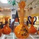 Tienda de vidrio de La Fiore Un fin de semana en las Islas Baleares Mallorca